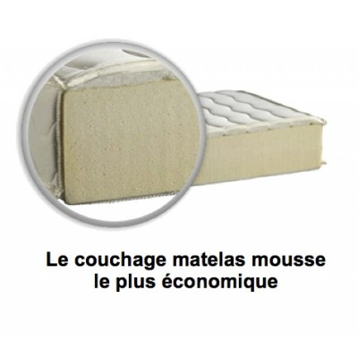 matelas mousse 1 pers matelas bateau sur mesure. Black Bedroom Furniture Sets. Home Design Ideas
