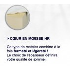Matelas Mousse 1 pers